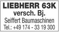 LIEBHERR 63K