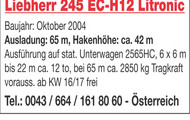 Liebherr 245 EC-H12 Litronic