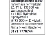2 x MAN Sattelzugmaschine 18 500
