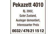 Pekazett 4010