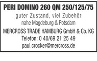 Peri Domino 260 QM 250/125/75