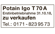 POTAIN Igo T 70 A