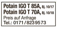 Potain IGO T 85A + IGO T 70A
