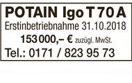 POTAIN Igo T 70 A