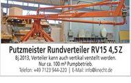 Putzmeister Rundverteiler RV15 4,5 Z