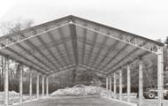 Satteldachhalle Typ SD15