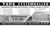 TEPE Satteldachhalle Typ SD10