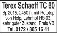 Terex Schaeff TC 60
