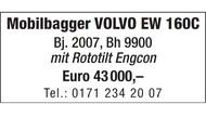 Mobilbagger VOLVO EW 160C