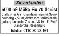 Zu verkaufen MüBa Fix 70 Gerüst