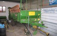 Dung-/Kompoststreuer Bergmann M 600 Stalldungstreuer
