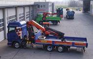 Scania R450 LB6x2 + Palfinger Ladekran