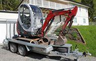 Minibagger Neuson 1503 RD inkl. Anhaenger