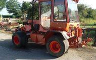 Traktor Bergmeister Rasenbereifung Rückfahreinrichtung