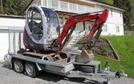 Minibagger Neuson 1503 RD mit Anhänger
