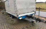 Barthau Anhänger TP 3002 Spriegel&Plane