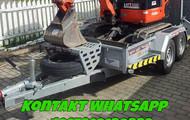 2011 Kubota-KX016-4 Minibagger mit Anhanger