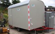 KNAUSS BW 1/K Einachs - Bauwagen