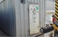 Dräger Rettungscontainer 20` Fuß inkl. Transportschlitten