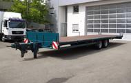 Dittmann Plattformanhänger mit ausziehbarer Deichsel + Containerverriegelung