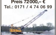 Seilbagger Hitachi KH125-3