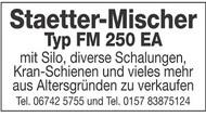 Staetter-Mischer Typ FM 250 EA